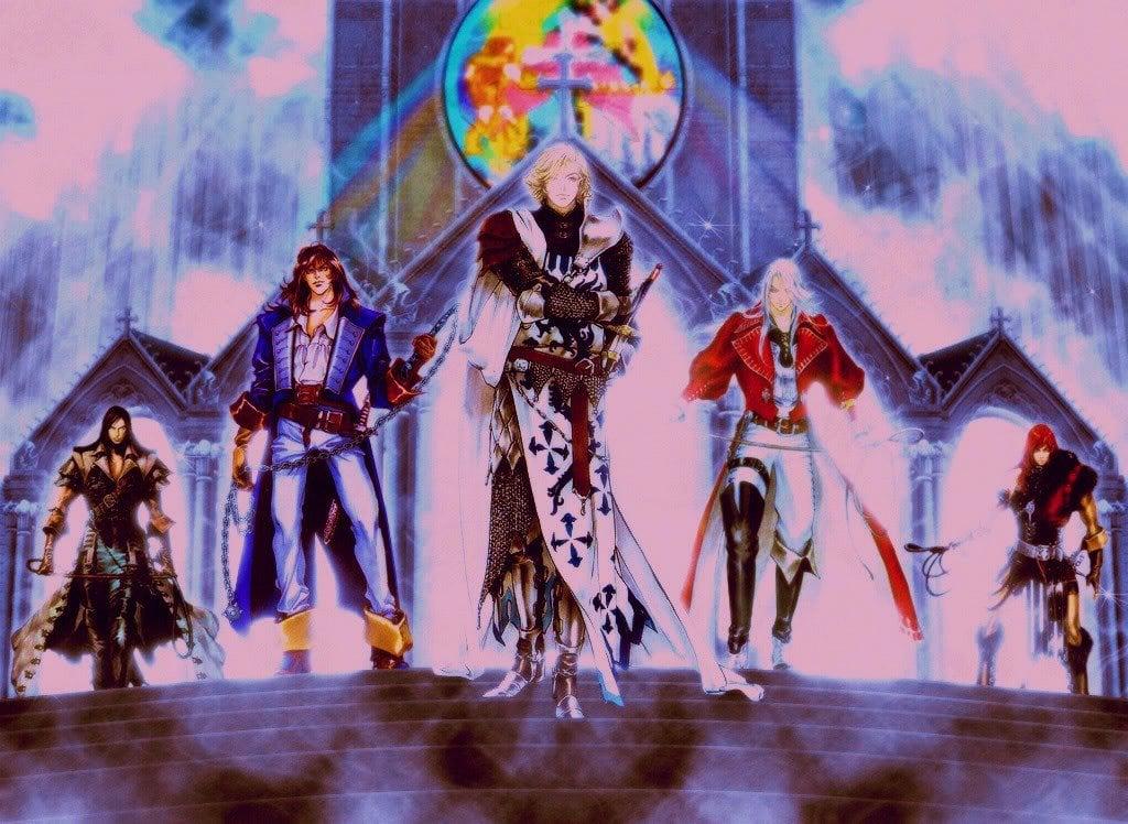 Dark Souls Castlevania Build