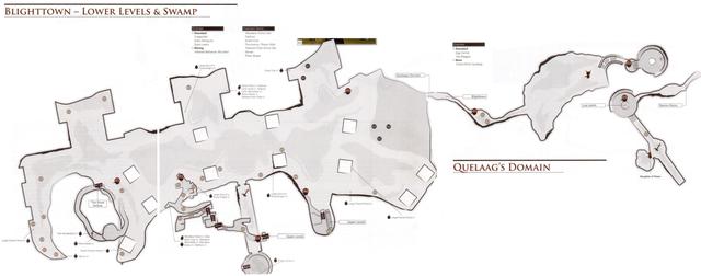 maps | Dark Souls Wiki Demon Ruins Map on