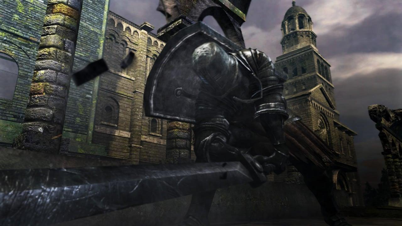 Dark Souls  Black Iron Tarkus Build