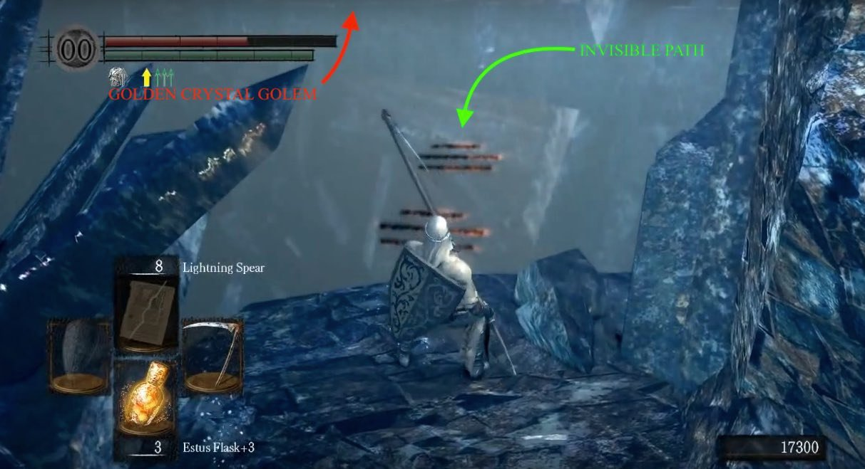 Crystal Cave Dark Souls Wiki