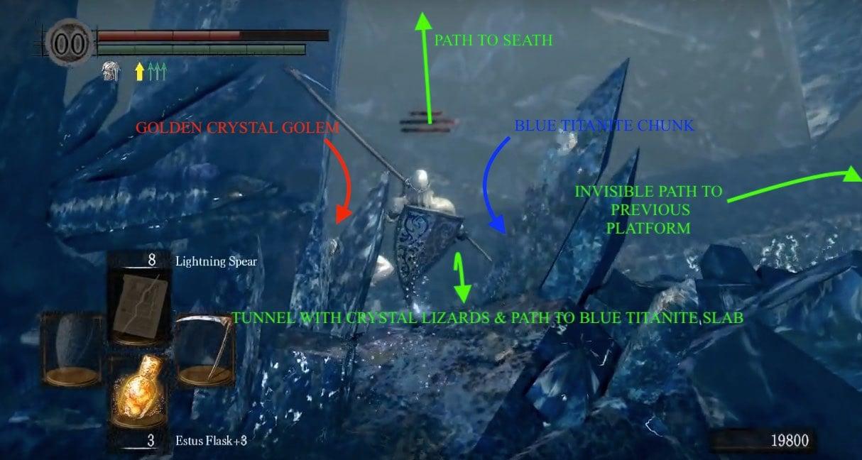 Crystal Cave | Dark Souls Wiki