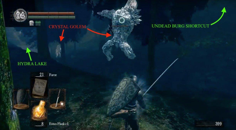 hydra dark souls walkthrough undead