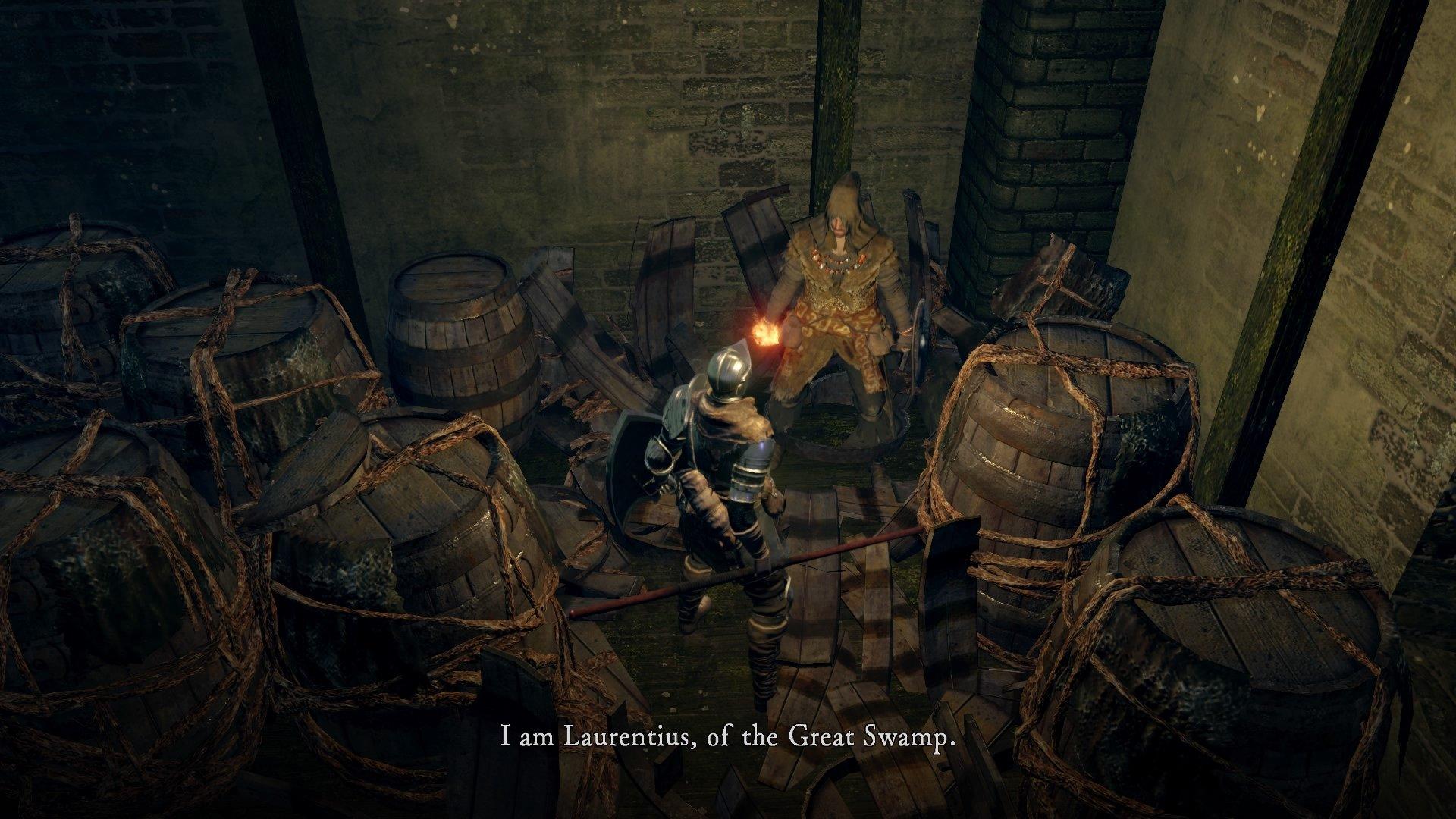 Laurentius of the Great Swamp   Dark Souls Wiki