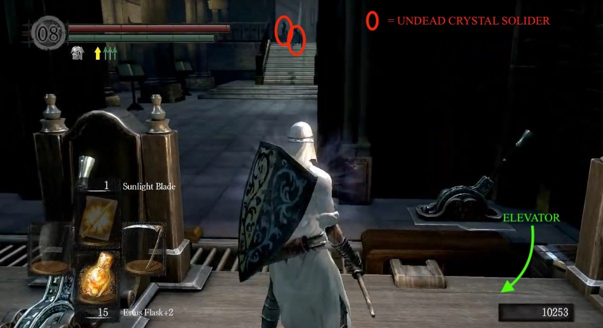 The dukes archives dark souls wiki first encounters of the crystal kind once it reaches the top youll run into your first few undead crystal soliders both ranged and melee biocorpaavc Gallery